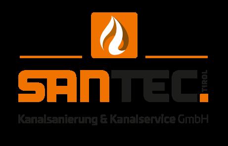 SanTec Tirol Kanalsanierung und Kanalservice GmbH - Inspektion, Sanierung und Verlegung - Kanalreinigung Notdienst - Logo - Bild